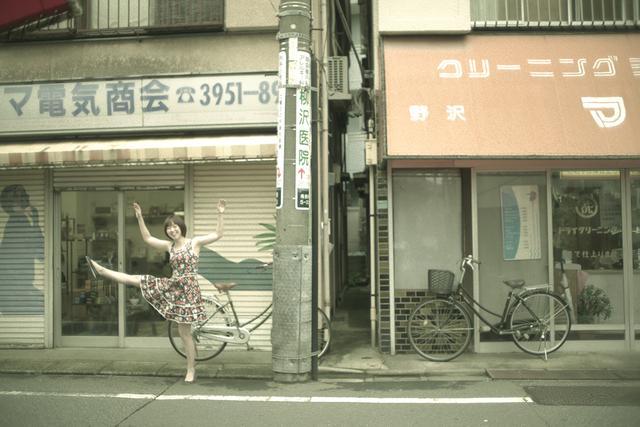 画像1: 踊るギタリストと街角撮影会