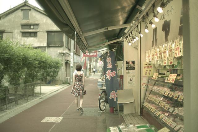 画像2: 懐かしい江古田の街、商店街で学生街