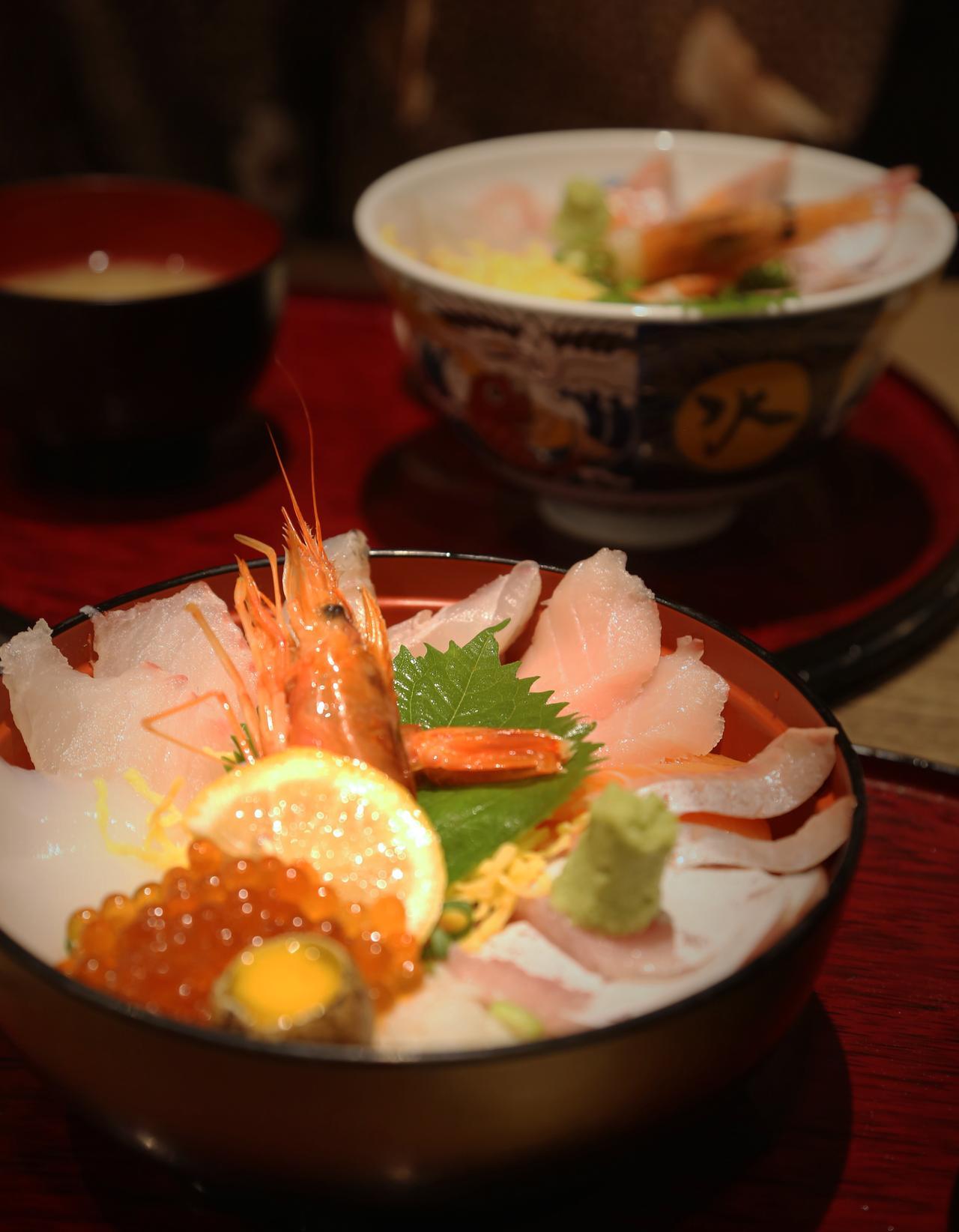 画像: オススメ海鮮丼は限定30食の海鮮丼!