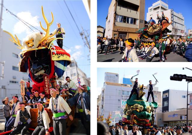 画像2: お隣の佐賀県の秋季例大祭「唐津くんち」