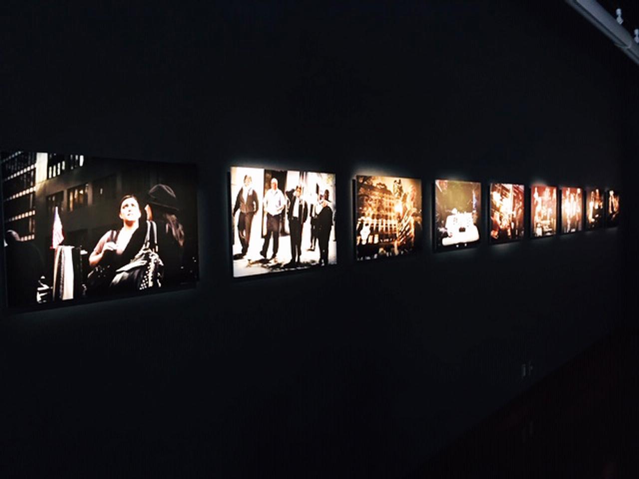 画像2: 山口晴久写真展『都市彷徨』。山口氏は、大阪府立成城高校の写真部顧問をされており、これまで何度も個展を開催しています。