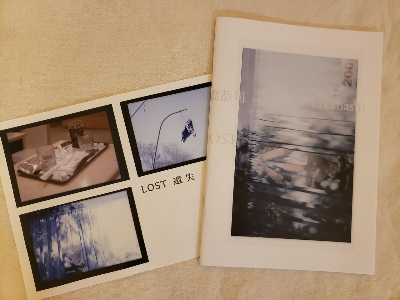 画像: フライヤーと写真集「LOST」 日本初のアートに特化したブックフェア「TOKYO ART BOOK FAIR 2019」にて先行発売された写真集「LOST」(amala books /A5版/48頁/250部限定/ 定価2,000円)も販売しています。