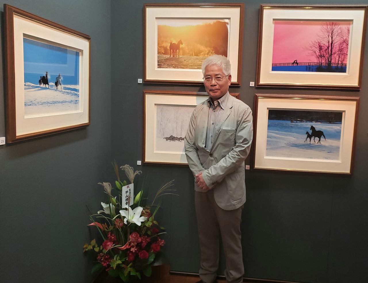 画像: 写真家の川井博さん。