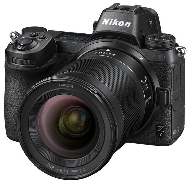 画像: Z 7に装着したNIKKOR Z 24mm f/1.8 S