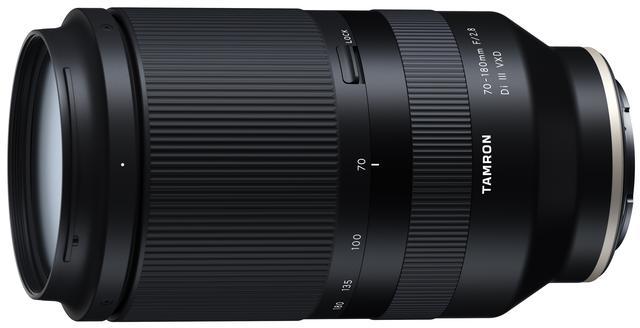 画像: 開発発表された70-180mm F/2.8 Di III V XD (Model A056)