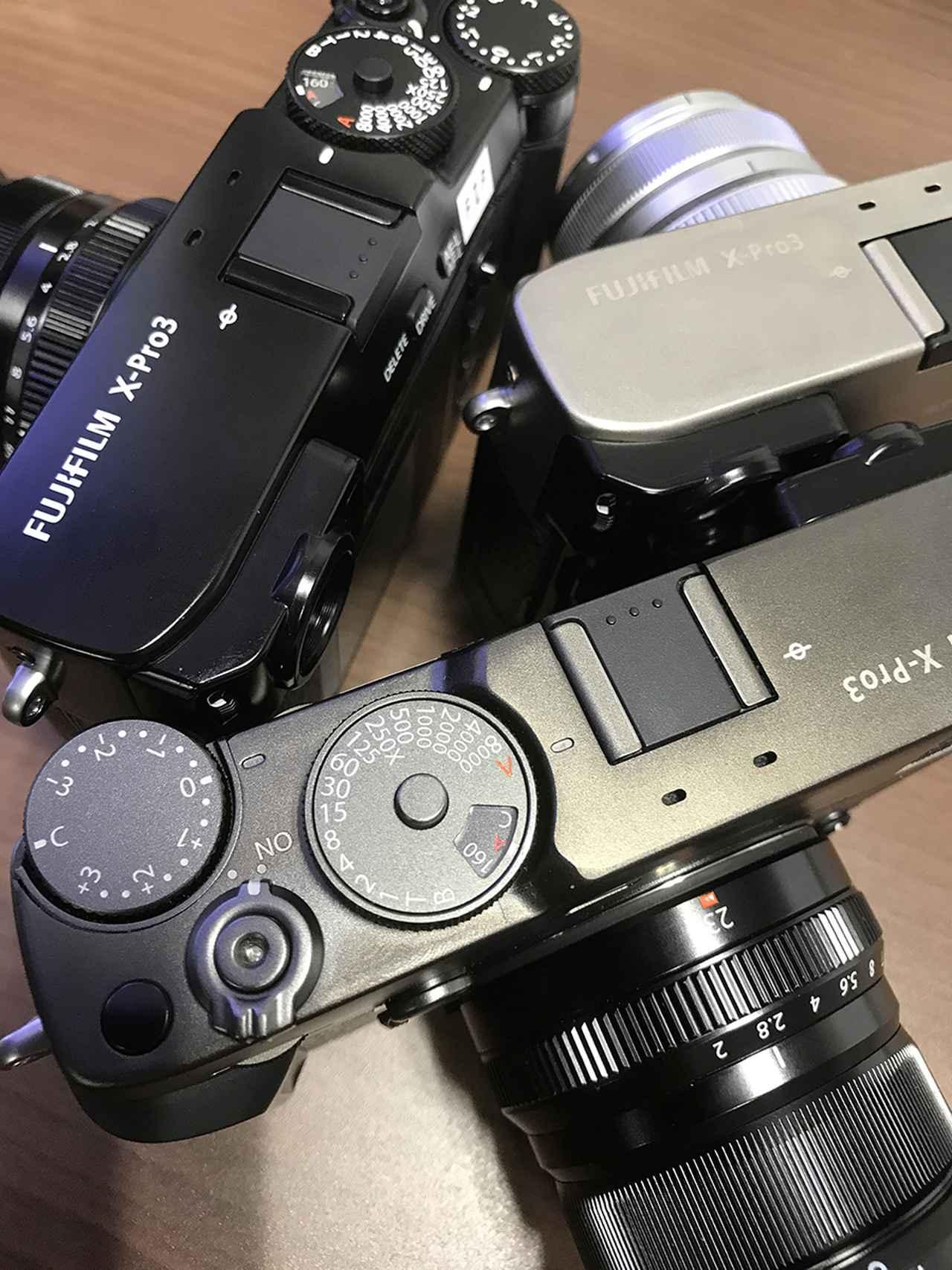 画像: 3モデル揃い踏み。「ブラックペイント」と「Duratect」仕上げの「「DRブラック」「DRシルバー」。