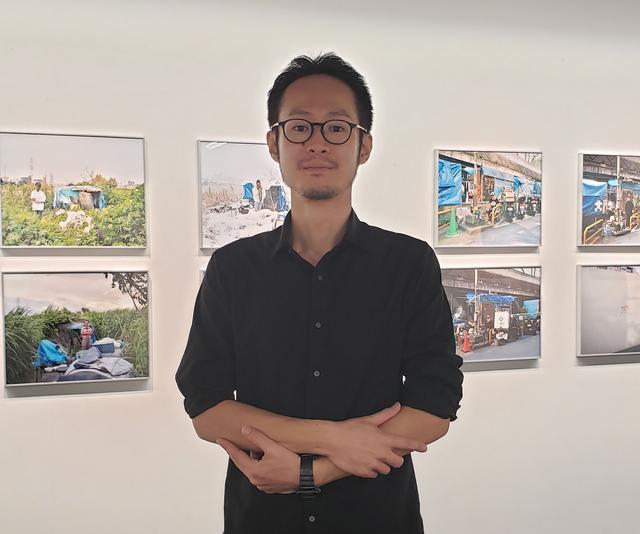 画像: 写真家、野口健吾さん。