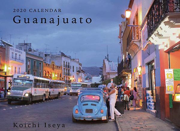 画像: カメラマン 2020カレンダーシリーズ 03 伊勢谷浩一 「Guanajuato」-モーターマガジン Web Shop