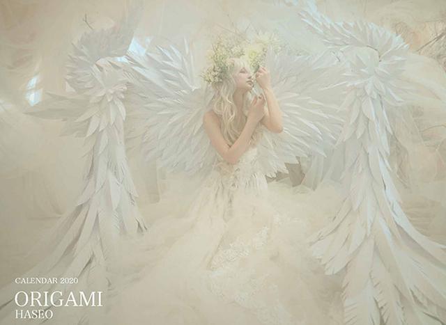 画像: カメラマン 2020カレンダーシリーズ 26 HASEO 「ORIGAMI」-モーターマガジン Web Shop