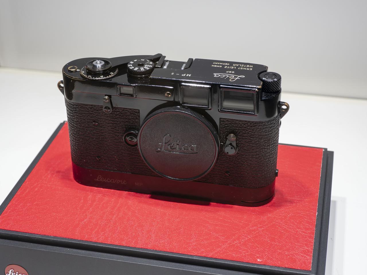 画像1: 「Leica MP black paint no.2」
