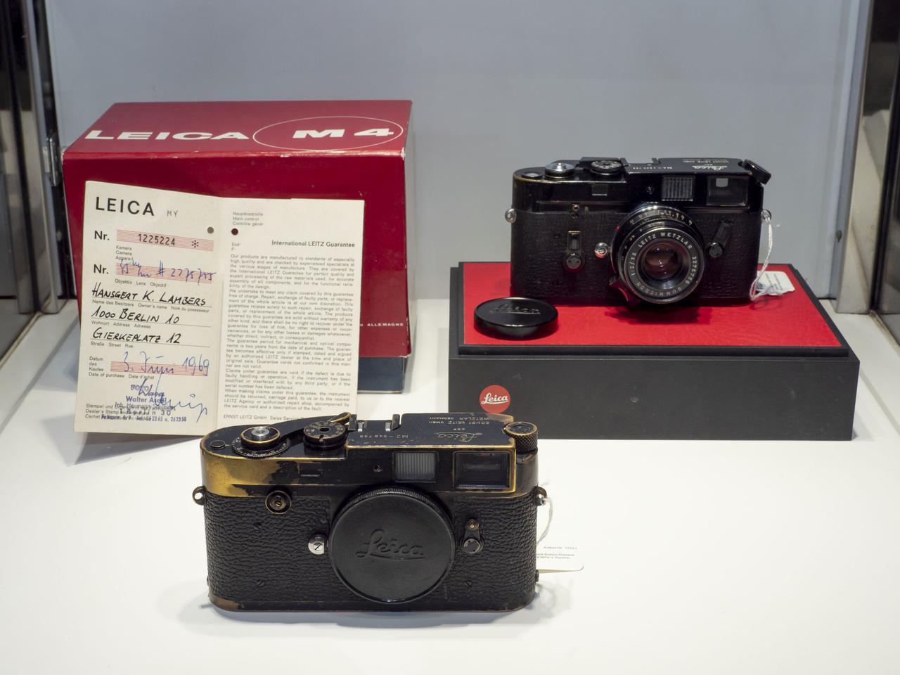 画像: 「Leica M2 black paint Button Rewind」&「Leica M4 black paint+Summicron 2/35mm black」