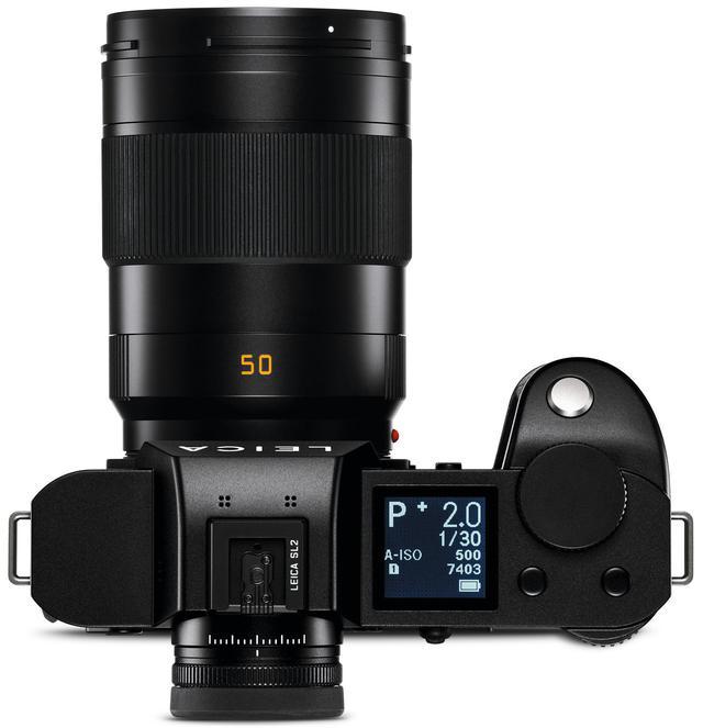 画像2: 47MPセンサー&576万ドット高精細EVF搭載 フルサイズミラーレス、ライカSL2