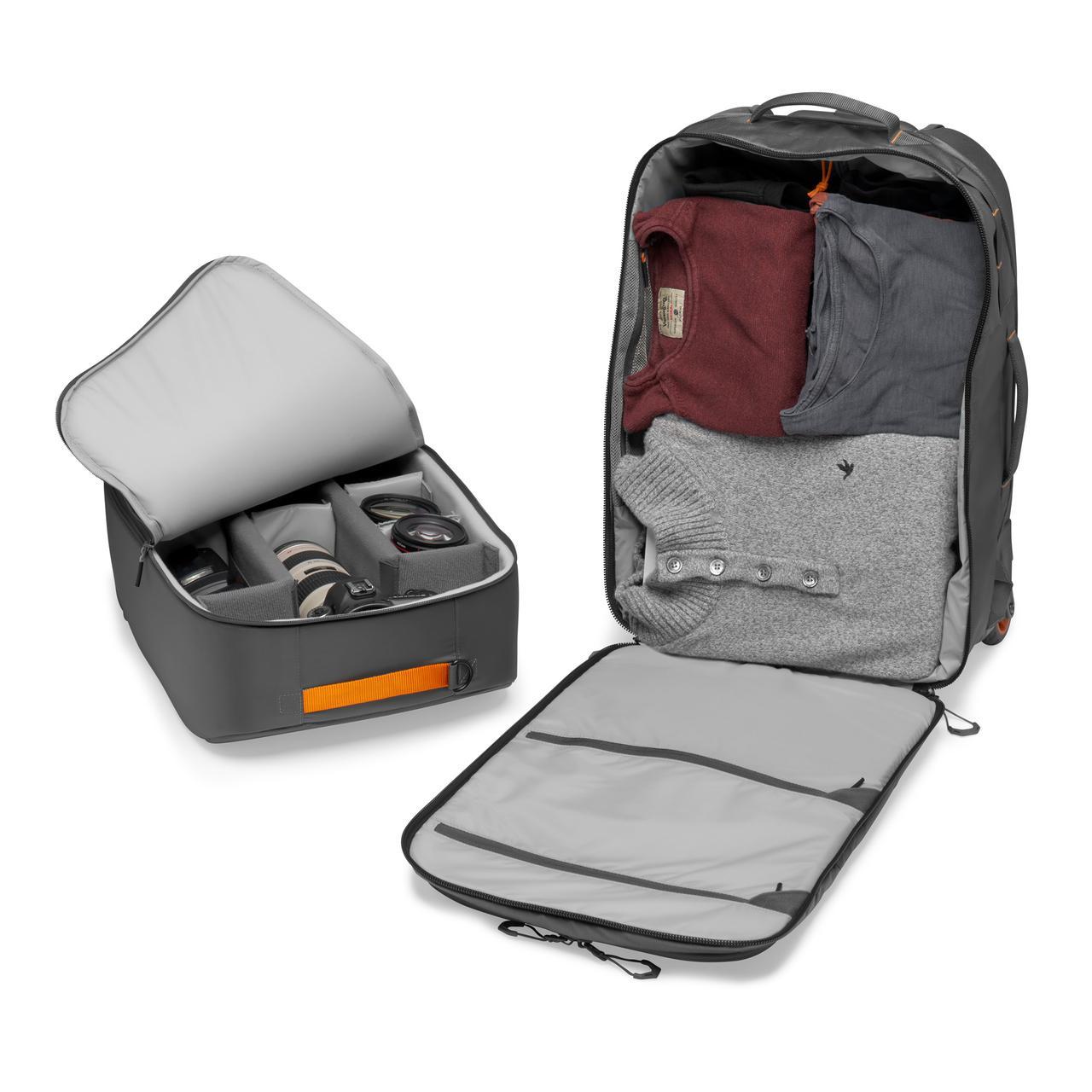 画像8: プロフォトグラファー向けバッグ。機内持ち込み可能サイズで便利!
