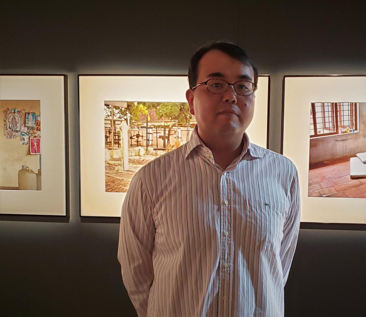 画像: 写真家の齊藤小弥太さん。「カメラを持っていても持たなくても、写真を撮っても撮らなくても、またこの場所を訪れたい」と、おっしゃる姿が印象的でした。