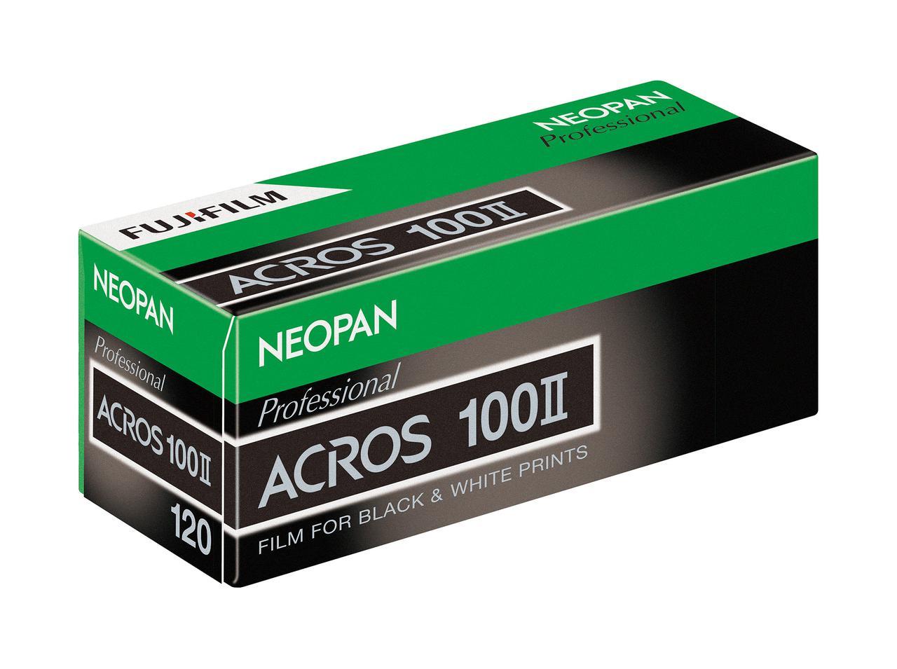 画像: ネオパン100 ACROS II ブローニーサイズ