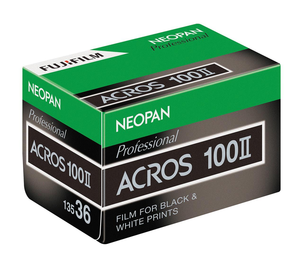 画像: ネオパン100 ACROS II 35mmサイズ