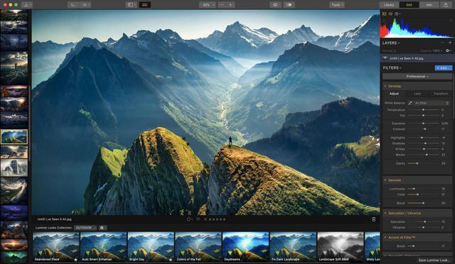 画像: Luminar – MacとPC対応のベスト写真編集ソフトウェア | Skylum
