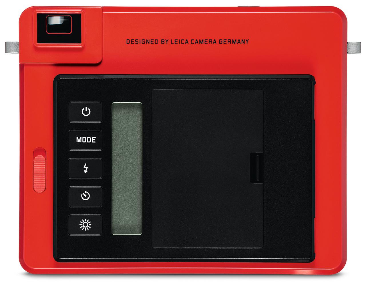 画像1: ライカのインスタントカメラに新色が追加 ライカ ゾフォート レッド