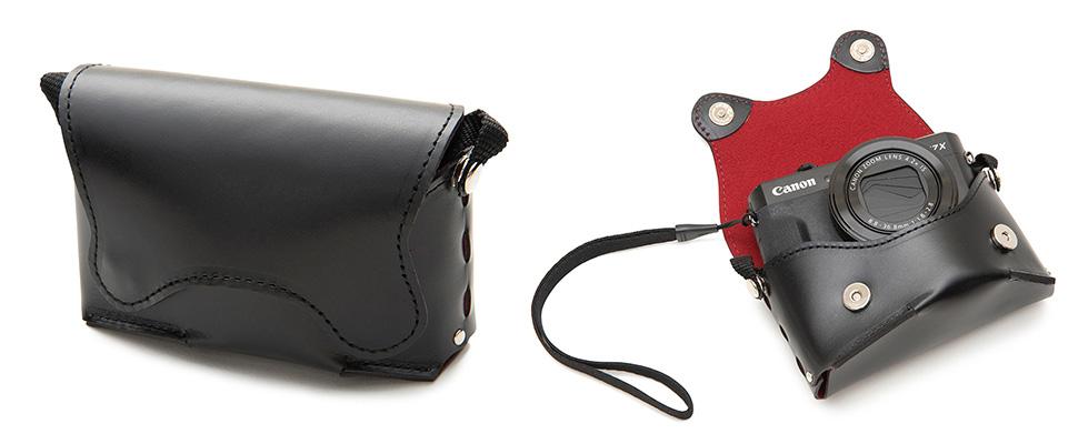 画像: 「黒」 オルフェ02(PowerShot G7 X Mark II, Mark III用) LCO-02-BK