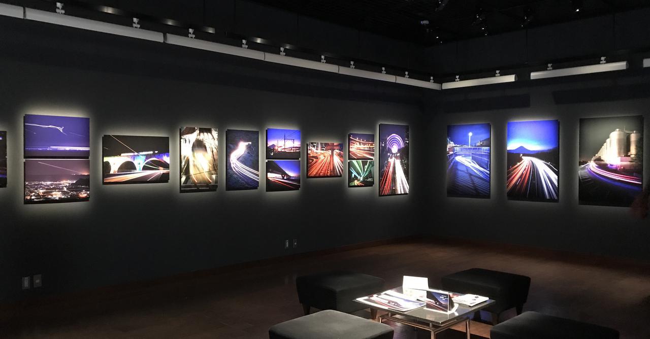 本日から開催中! 川北 茂貴 写真展:光の跡 Light Trails 東京銀座の「キヤノンギャラリー銀座」にて