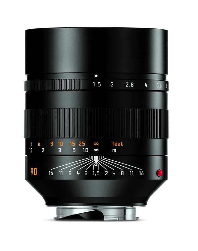 画像1: ライカカメラ社は「ライカ ズミルックスM f1.5/90mm ASPH.」を発表。発売は12月21日予定。税別価格は150万円。