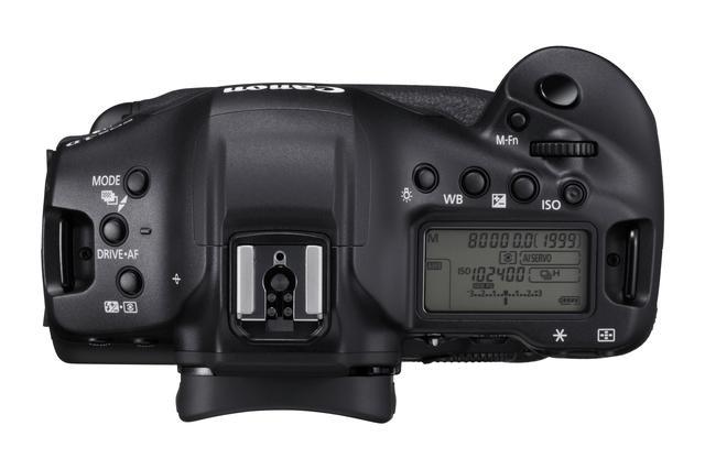 画像: キヤノン EOS-1D X Mark III 上面