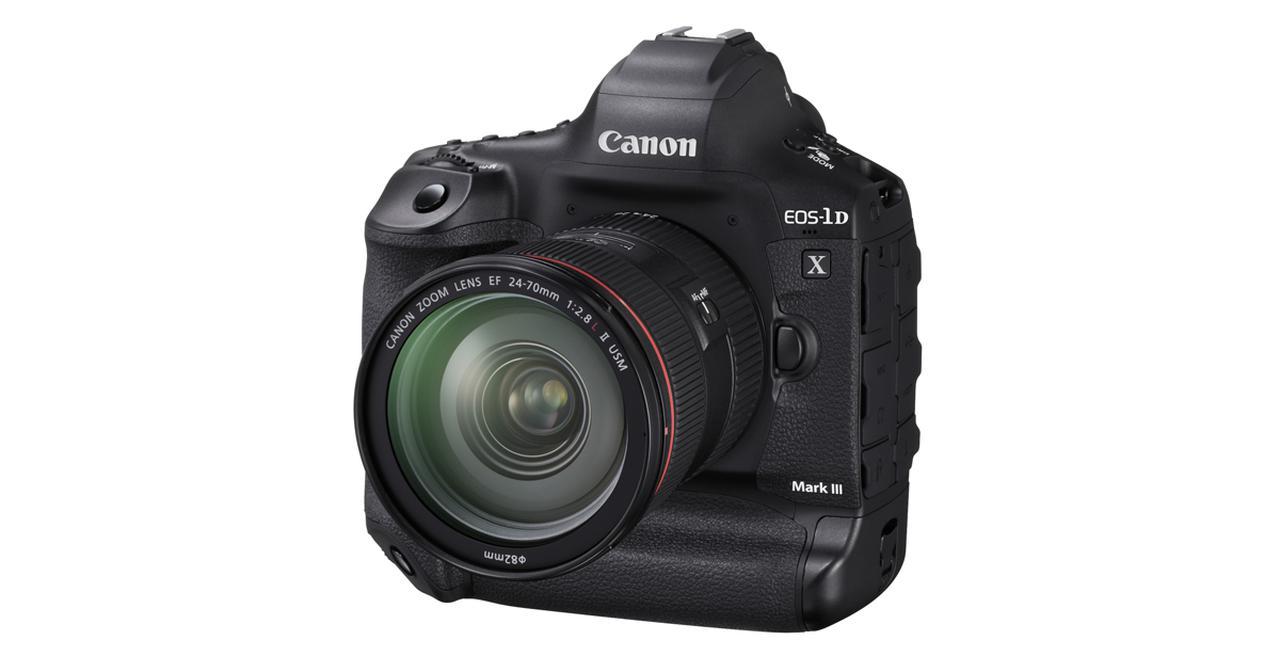 """画像: デジタル一眼レフカメラのフラッグシップ機""""EOS-1D X Mark III""""を発売"""