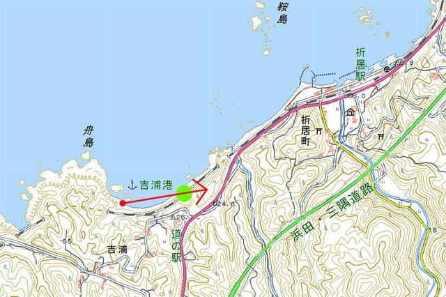 画像: 山陰本線(折居〜三保三隅)