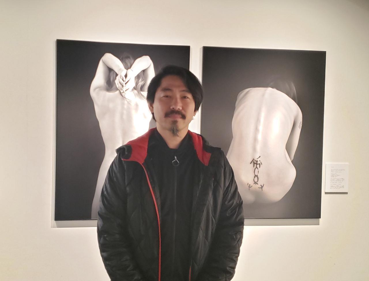 画像: 会場では温かく、丁寧に『文身』についてお話してくださった桐生眞輔さん。 桐生さんの『文身』のプロジェクトは現在まで約20人の方が参加。100人に文身を施すことを目標にされているそうです。