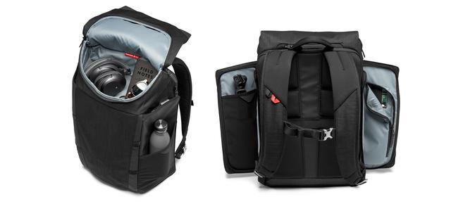 画像: バッグ上部と両サイドの3方向からアクセスが可能。