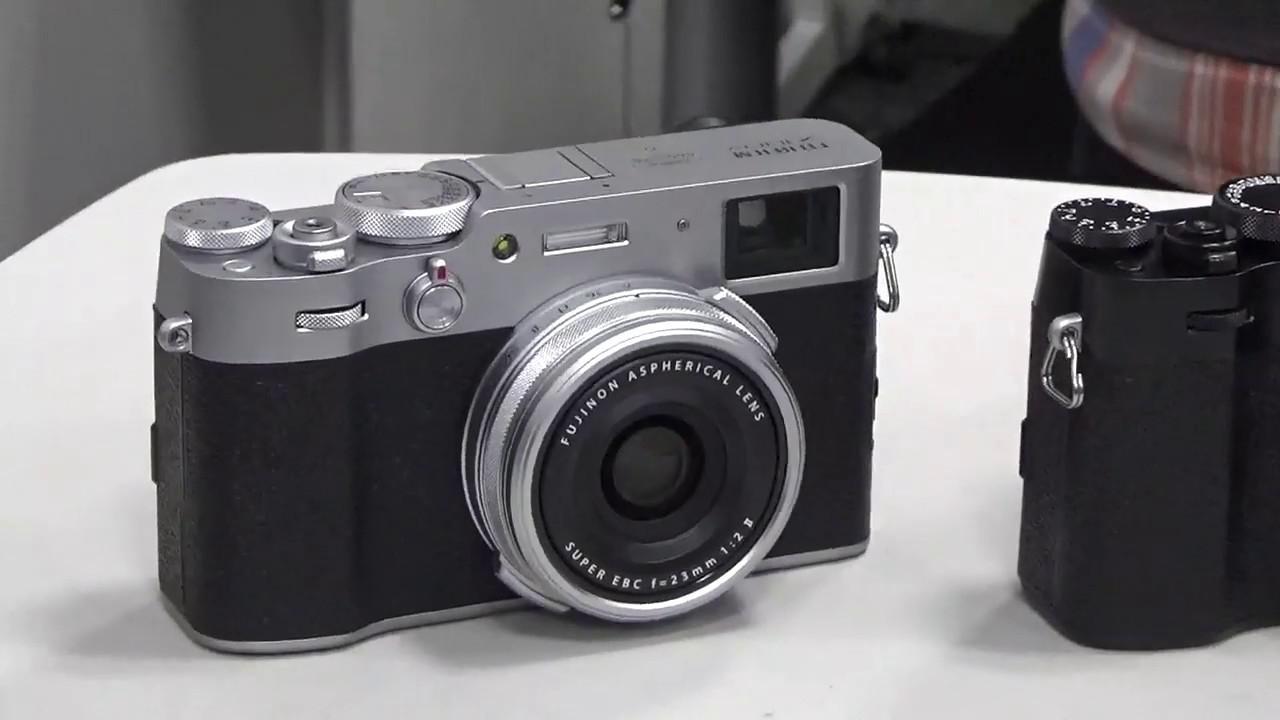 画像: 富士フイルムのニューモデル「X100V」の概要。 youtu.be