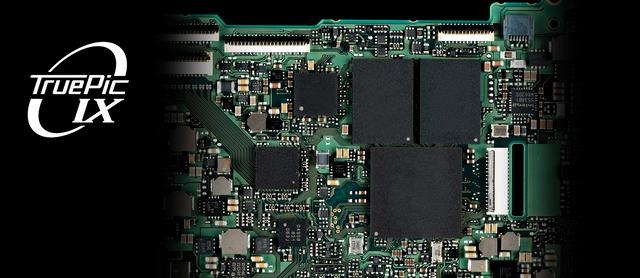 画像: 新開発の画像処理エンジン「TruePic IX」