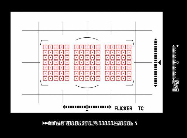 画像: D5比約1.6倍の高密度、全点選択可能な105点のフォーカスポイント