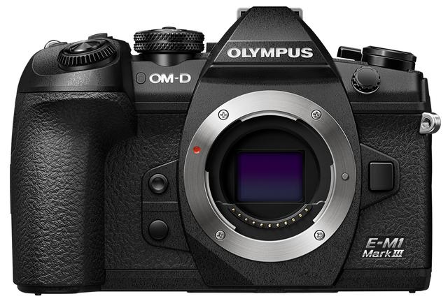 画像: OLYMPUS OM-D E-M1 Mark III 正面