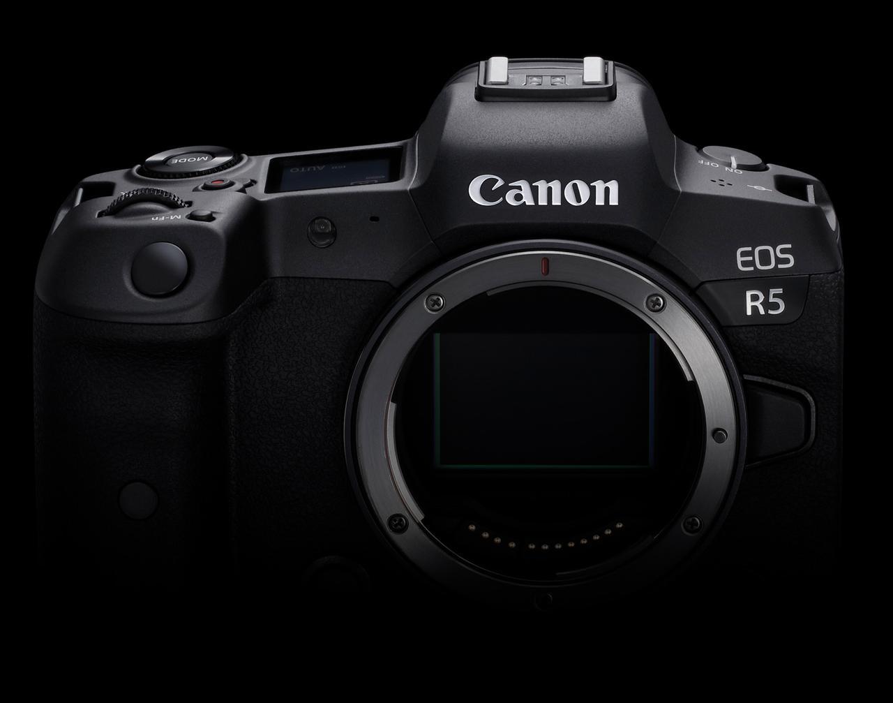 画像1: Canon EOS R5