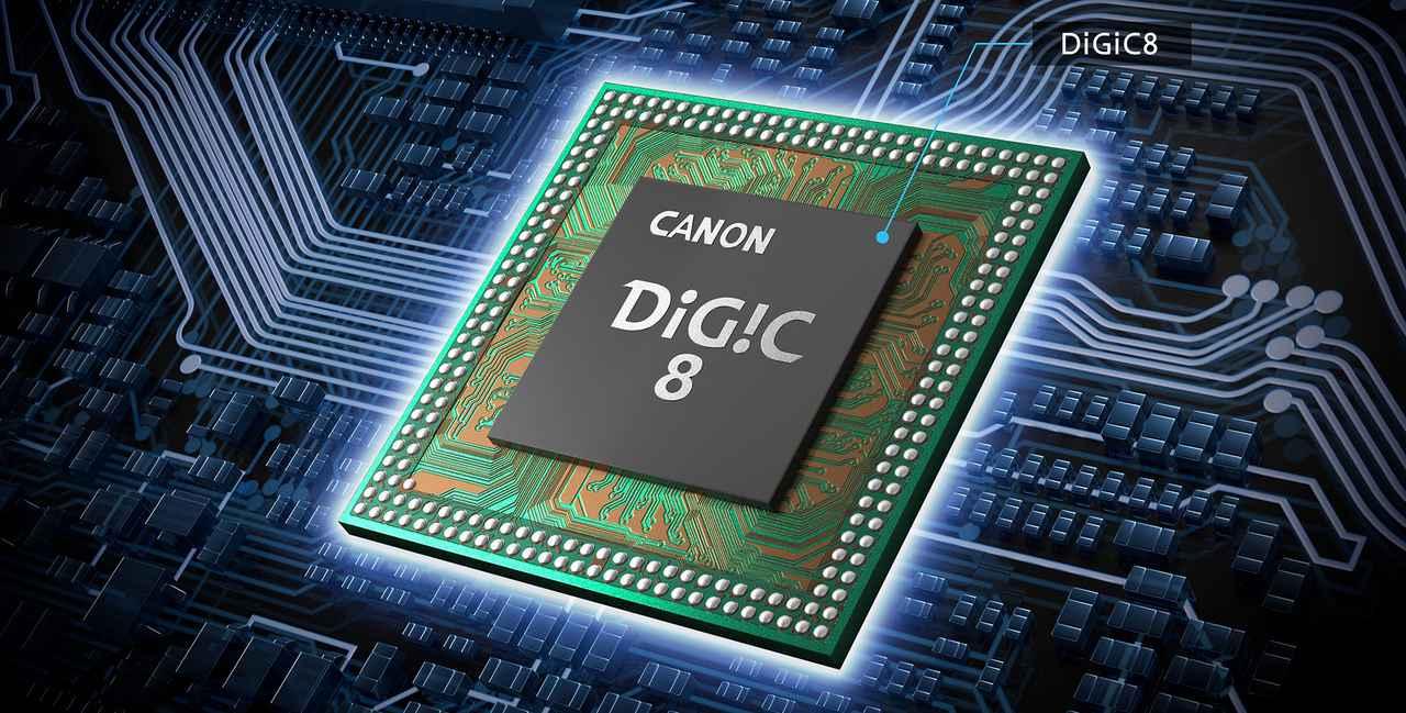 画像: 最新の画像エンジンDIGIC 8を搭載
