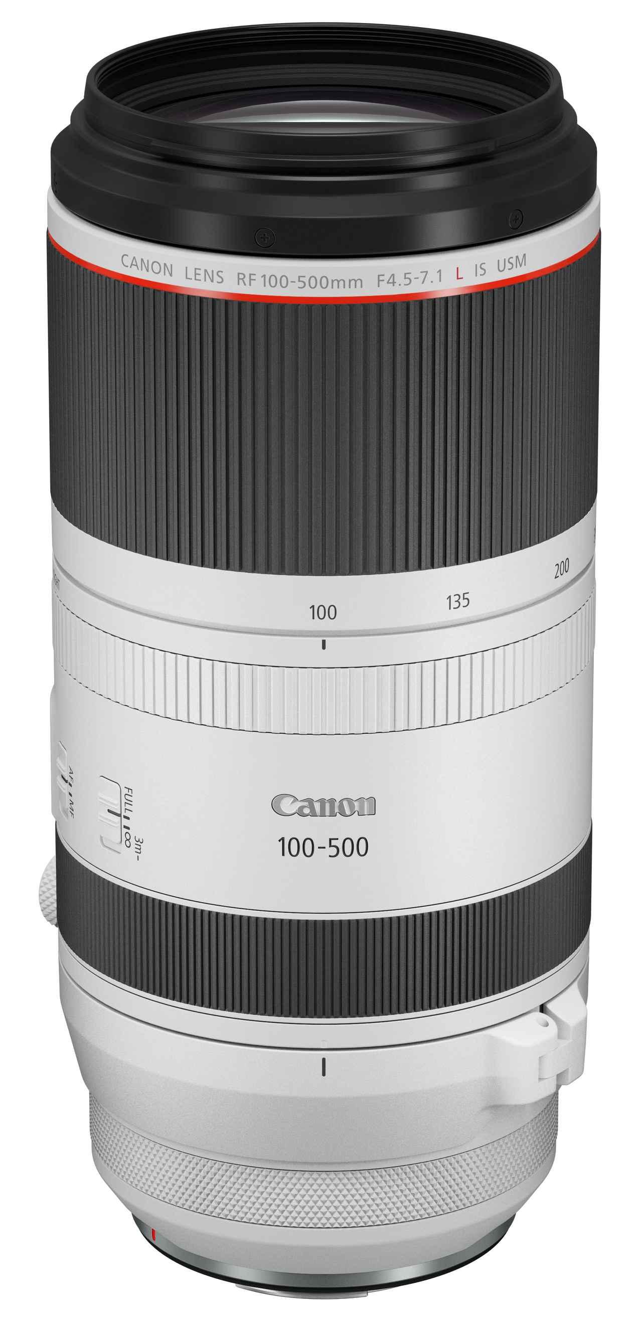 画像: Canon RF100-500mm F4.5-7.1 L IS USM