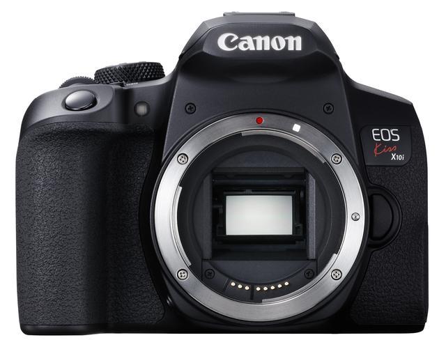 画像: Canon EOS Kiss X10i 正面