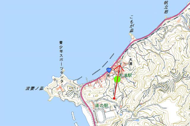 画像: 予讃線(大浦)