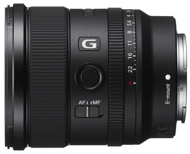 画像1: フルサイズ対応の大口径超広角単焦点レンズ  ソニーFE 20mm F1.8 G