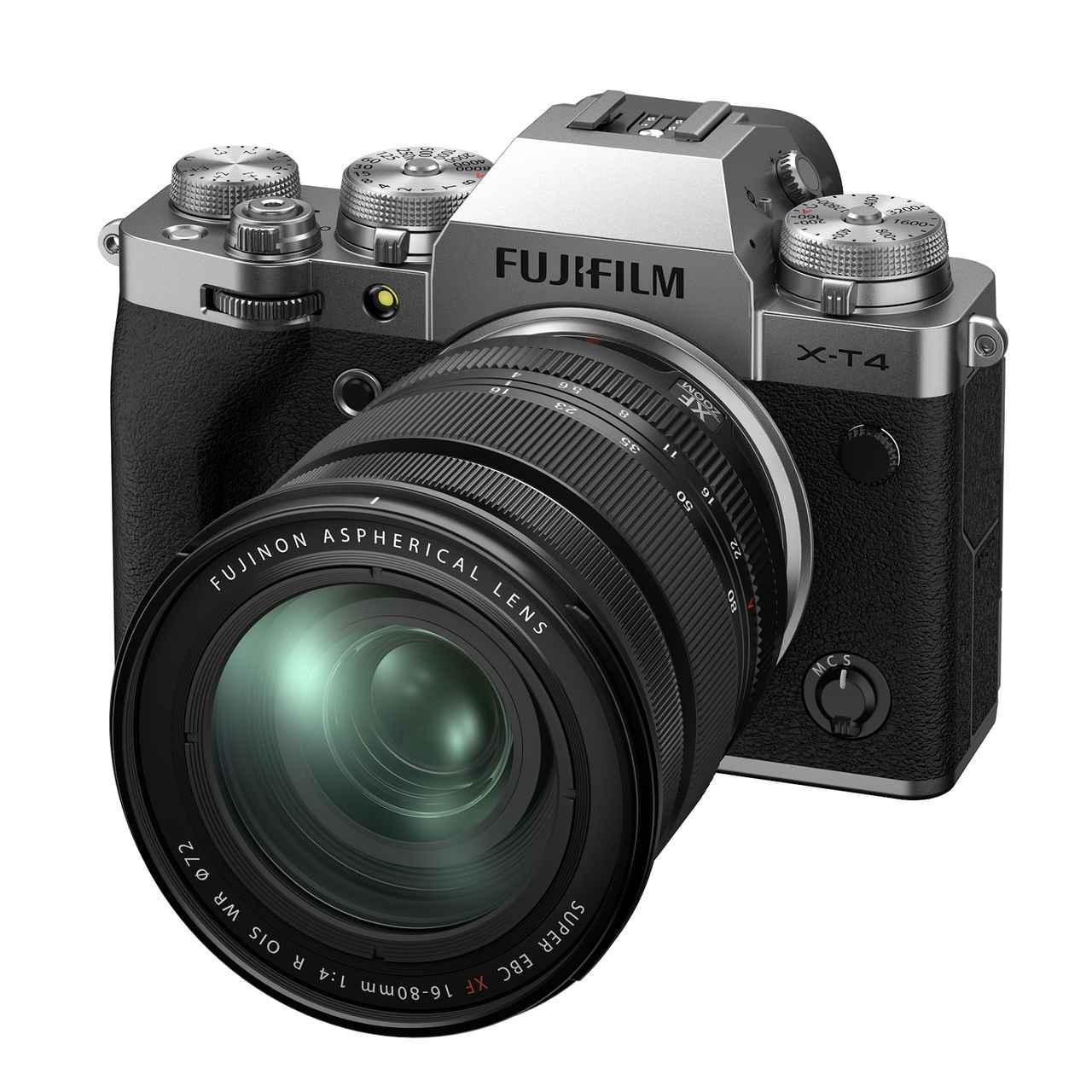 画像1: 富士フイルムはXシリーズの最新モデル「X-T4」を発表。 ボディのみ市場想定価格は20万4500円。