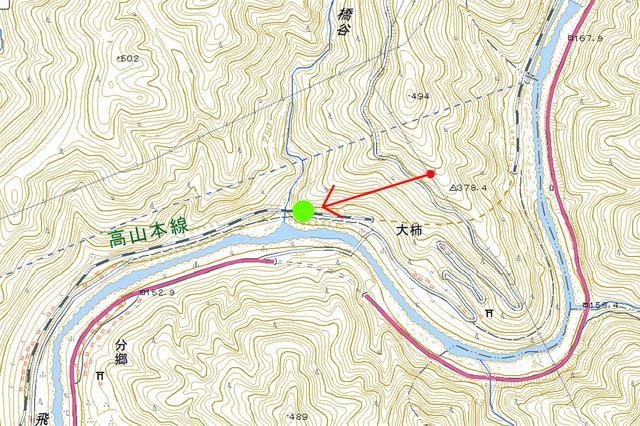 画像: 高山本線 (上麻生~白川口)