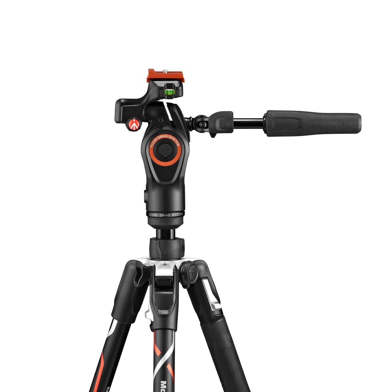 画像: ▲マンフロット「200PL-PROプレート」をα7シリーズと『α9』用にカスタマイズしたカメラプレートを装備。