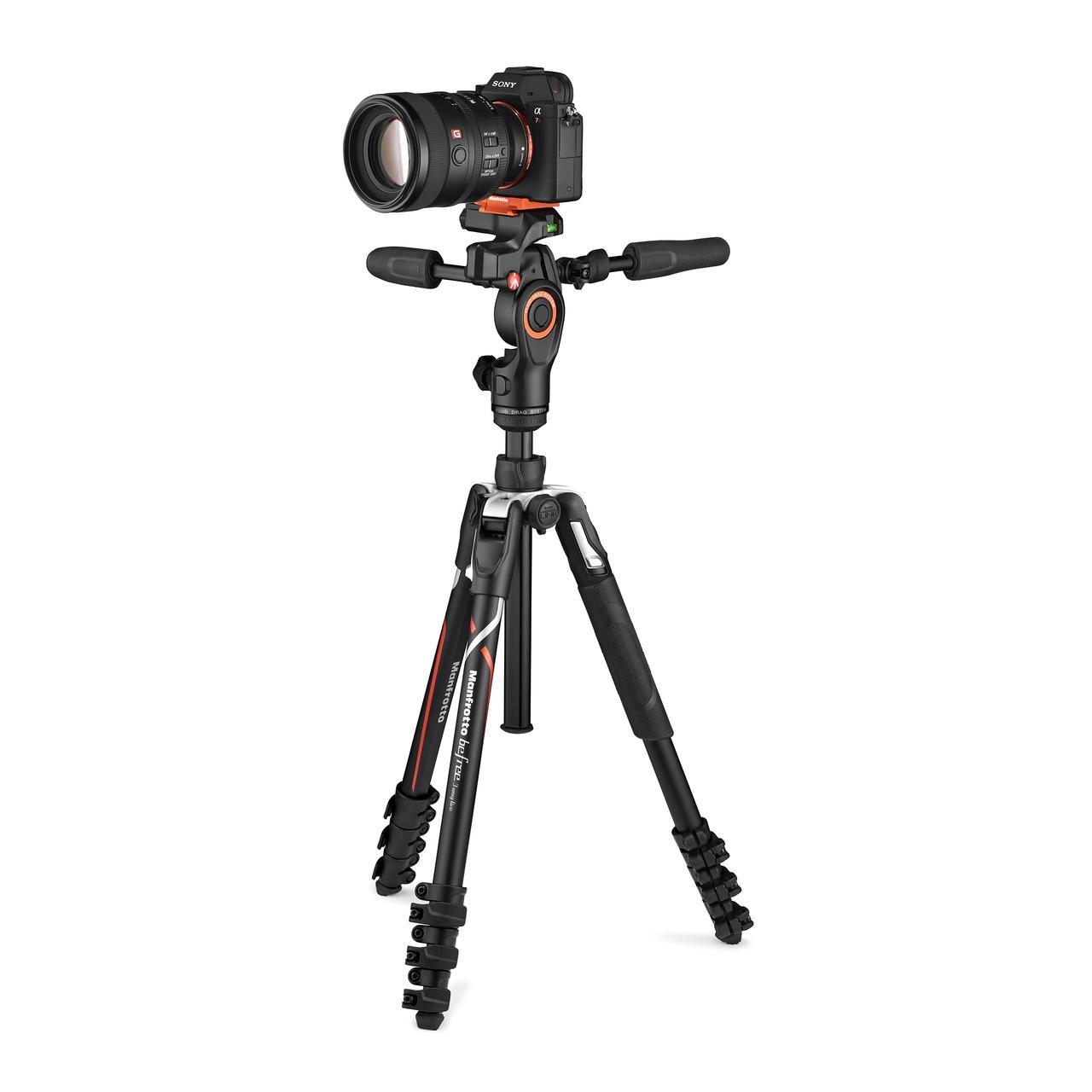 画像: ▲ソニーのカメラ(別売)を即着した状態。