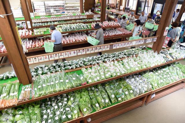 画像: 白鷹町の安全安心な新鮮野菜などが人気