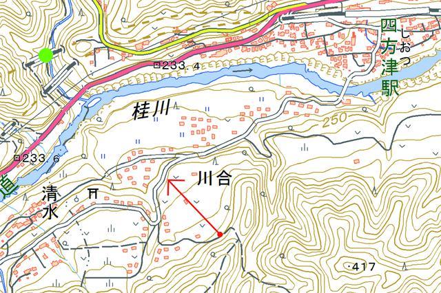 画像: 中央本線 四方津~梁川