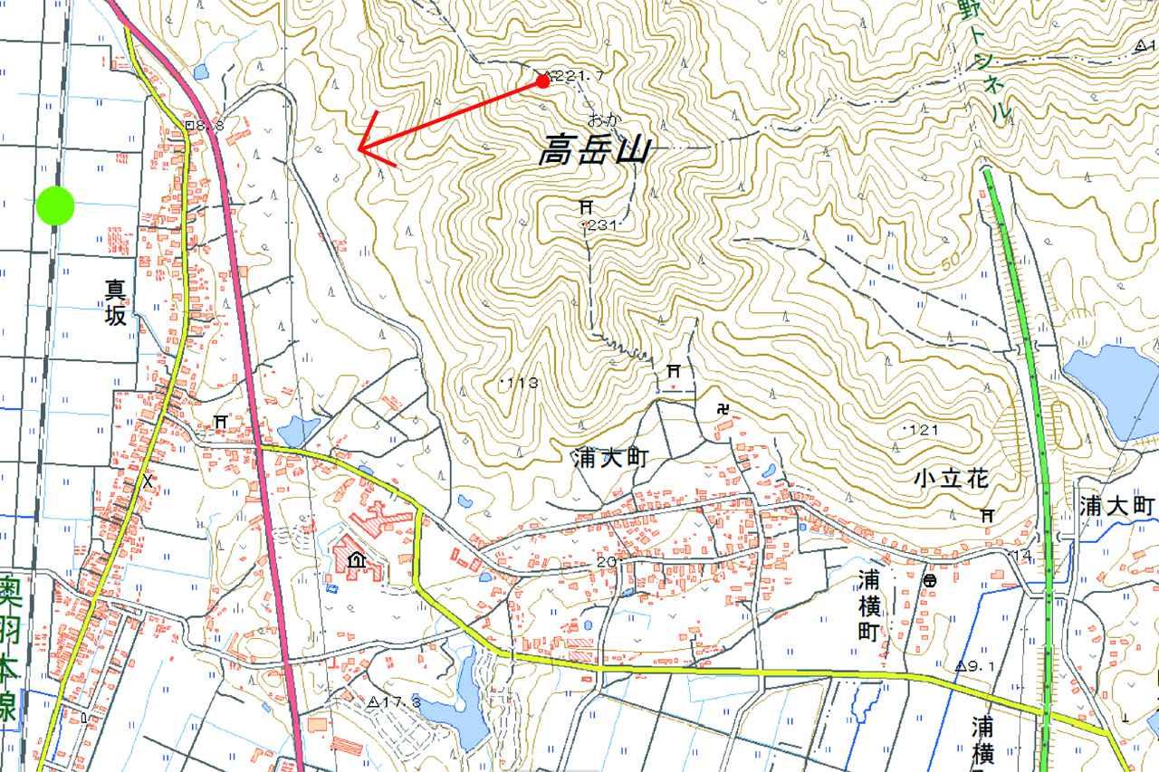 画像: 奥羽本線 八郎潟~鯉川