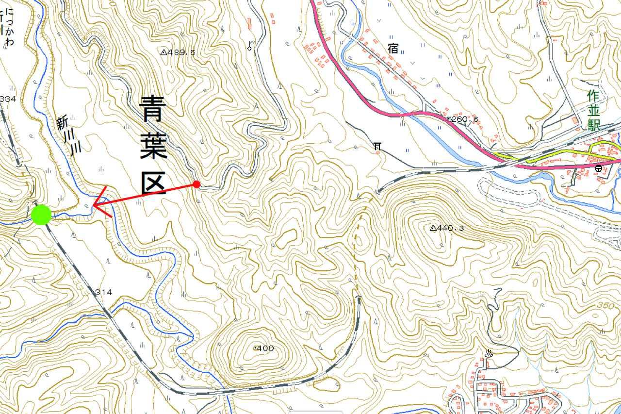 画像: 仙山線 作並~奥新川