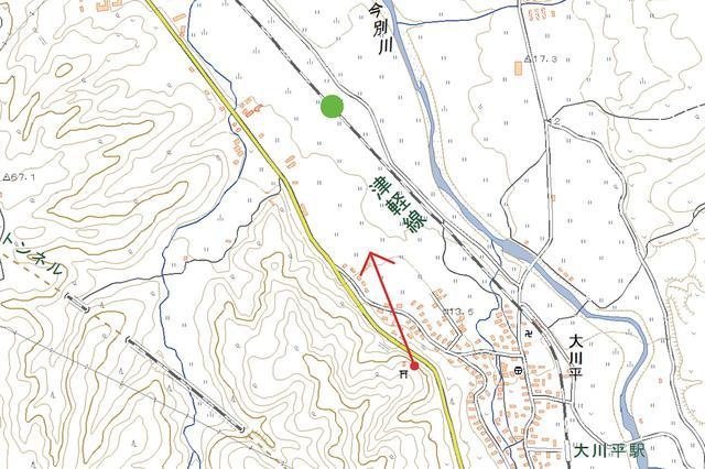画像: 津軽線 大川平〜今別