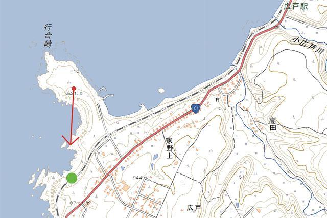 画像: 五能線 深浦〜広戸